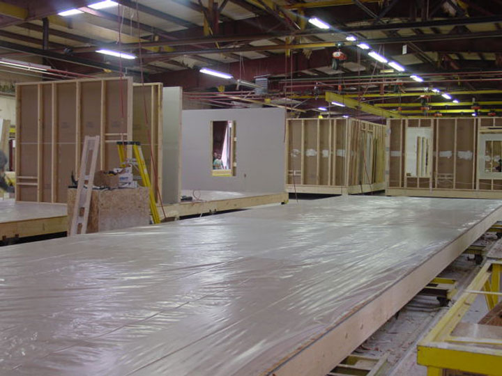 Clean Sub Floor System - Virginia Homes Building Systems