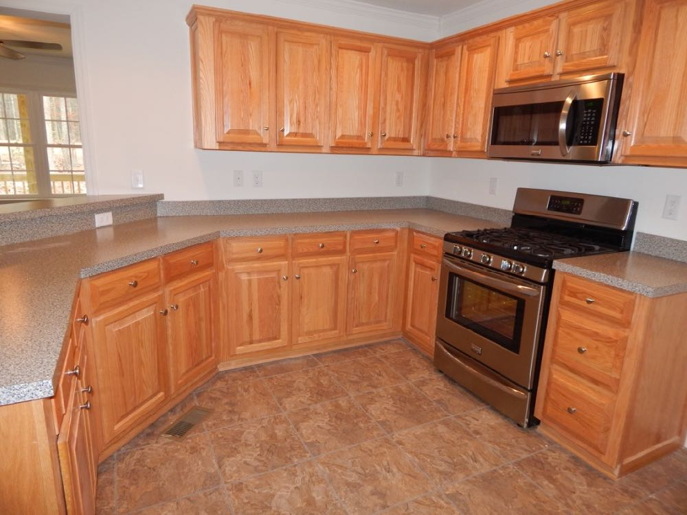 Kitchens In Modular Homes Have Flexible And Modern Kitchen Cabinet Options Virginia Homes Building Systems